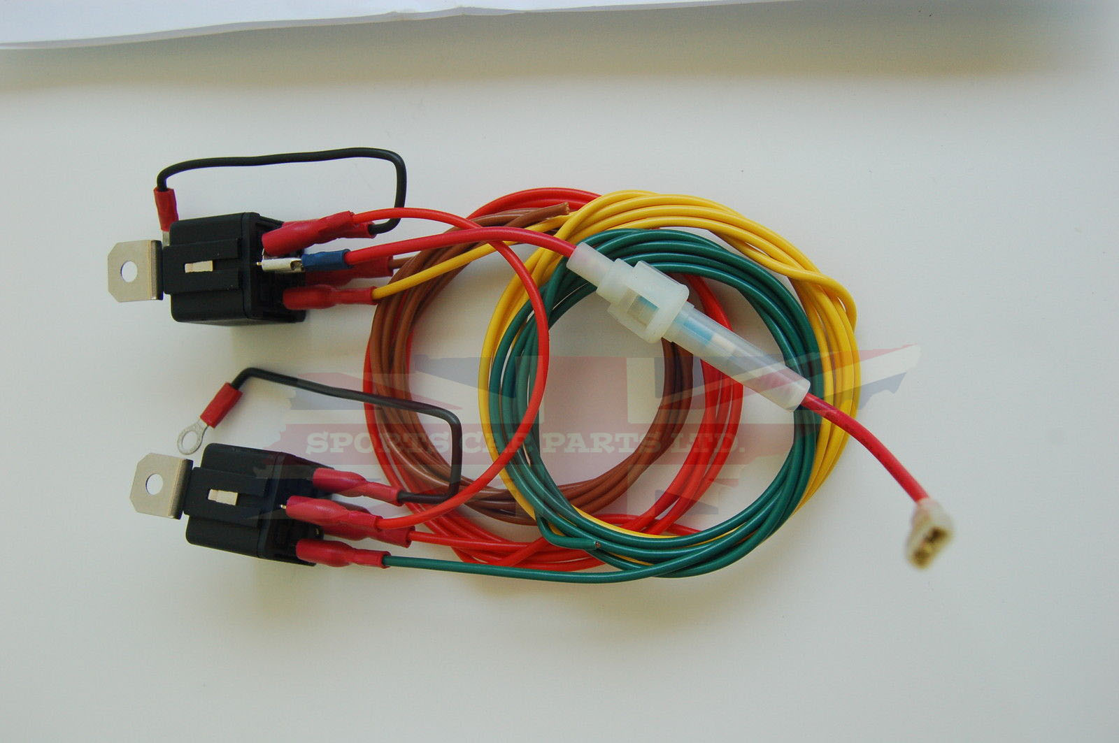 Headlight Headlamp Wiring Harness Relay Kit on