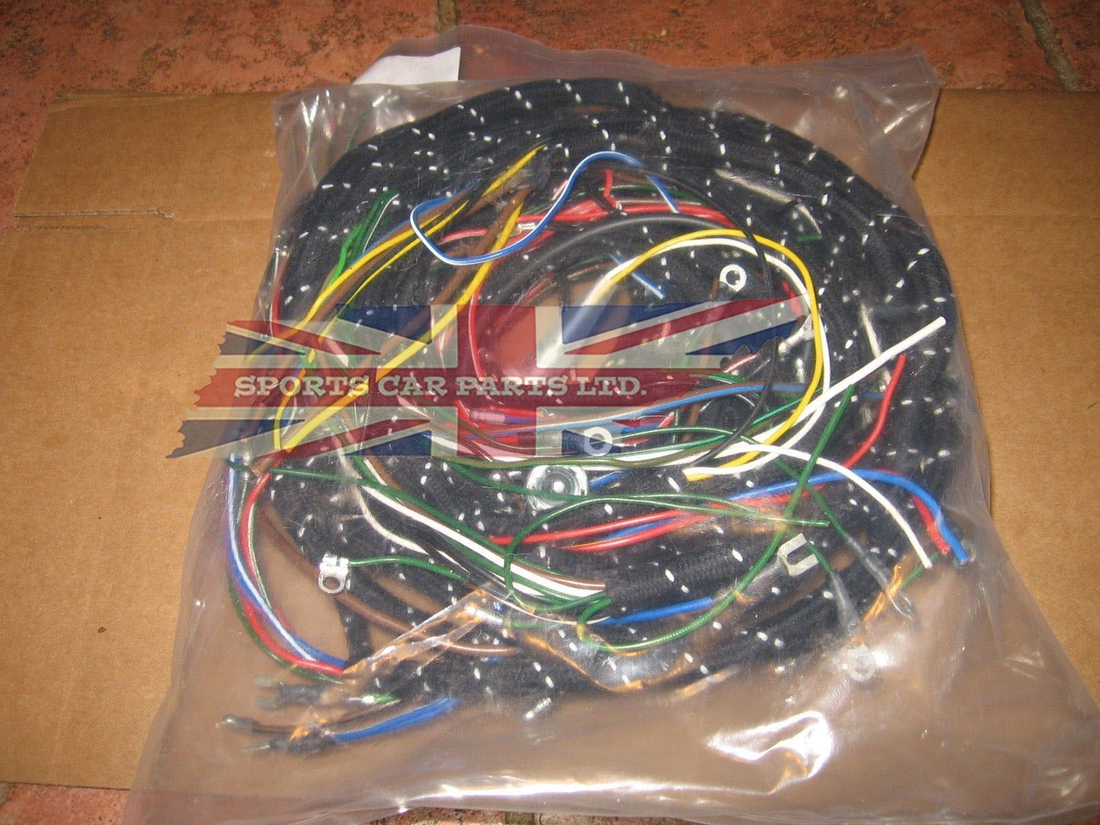 Cloth Covered Wiring Harness For Mg Mga 1600 1959