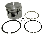 9-1 Piston Ring Set Spitfire 1500, MG Midget 1500