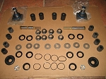 Major Front Suspension Kit w Trunnions & Ball Joints Triumph TR6 TR250 TR4A