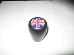 New Leather Gear Shift Knob for Triumph TR4 TR250 TR6 Spitfire with Union Jack