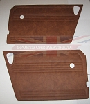 Pair of Door Panels for MG Midget 1970-79 - Autumn Leaf