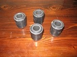 A-Arm Bushing Set Heavy Duty MG TD, TF, MGA, MGB