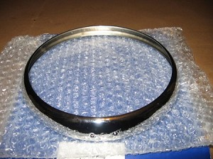 Headlamp Rim TR4 to TR6, Spitfire to 70, GT6 to 70