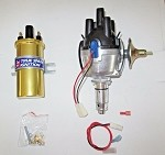 True Spark Electronic Ignition Distributor MGA MGB Midget Austin Healey Sprite 25D With Sport Coil