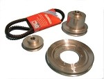 Aluminum Pulley Kit Narrow Belt TR2 to TR4A