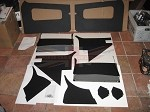 MGA Interior Panel Set - Black